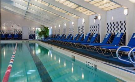 Brewster Cape Cod vacation rental - Fletcher indoor pool - 5 min walk from house.