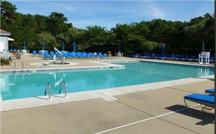 Brewster Cape Cod vacation rental - Fletcher outdoor pool - 5 min walk from house.