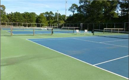 Brewster Cape Cod vacation rental - Tennis courts - 5 min walk from house (next to Fletcher pool).