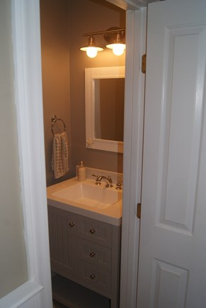 Brewster Cape Cod vacation rental - Newly remodeled half bath on first floor.