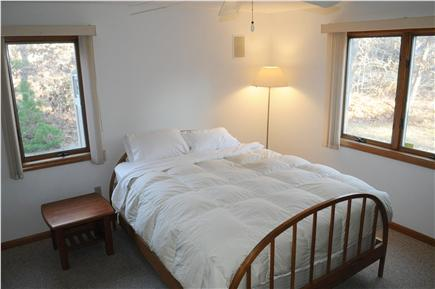 N. Truro Cape Cod vacation rental - Another downstairs bedroom with queen-size bed