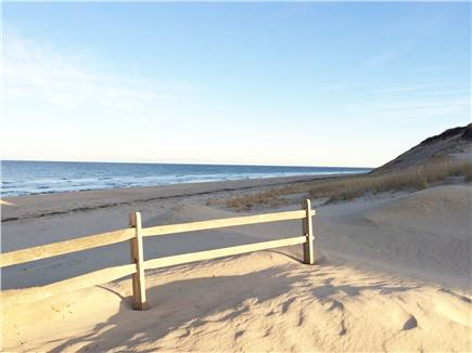 N. Truro Cape Cod vacation rental - Our very uncrowded beach, great for swimming