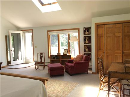 N. Truro Cape Cod vacation rental - Large sunny sitting area in master bedroom