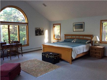N. Truro Cape Cod vacation rental - Master bedroom with full bathroom ensuite