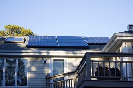 N. Truro Cape Cod vacation rental - We've gone solar this year!