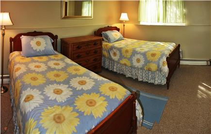 North Truro Cape Cod vacation rental - Bedroom with two twin beds