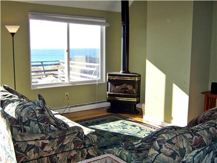 North Truro Cape Cod vacation rental - West side of living room