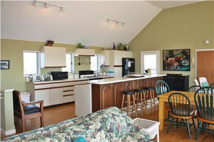 North Truro Cape Cod vacation rental - Kitchen/Dining Area