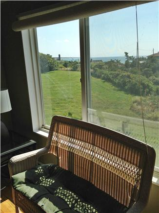 North Truro Cape Cod vacation rental - Southeast living room area
