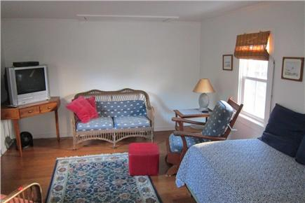 Falmouth, Menauhant Cape Cod vacation rental - First floor sitting room with daybed