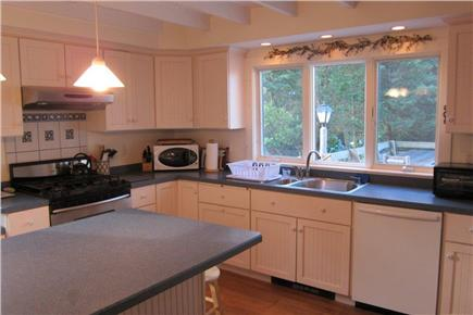 Falmouth, Menauhant Cape Cod vacation rental - Morning light in kitchen view 2