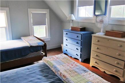 Falmouth, Menauhant Cape Cod vacation rental - Sunrise room w/twin beds and water views