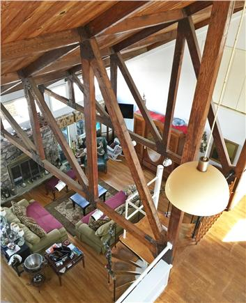 Dennis Cape Cod vacation rental - 3 Story cathedral interior
