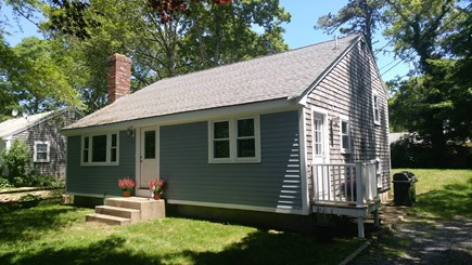 South Yarmouth Cape Cod vacation rental - Front/street view of home on a quiet street