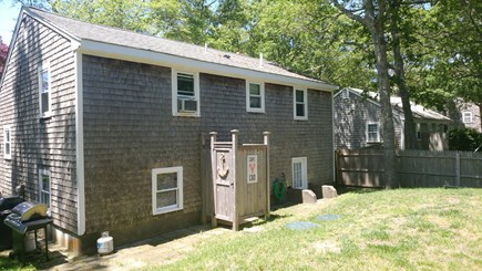 South Yarmouth Cape Cod vacation rental - Outside shower and grill