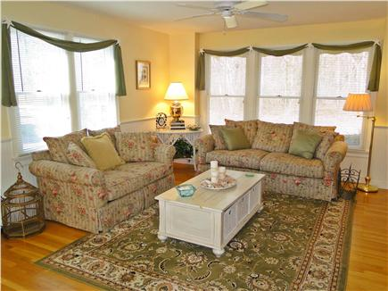 Mashpee, Popponesset Cape Cod vacation rental - Bright, spacious living room