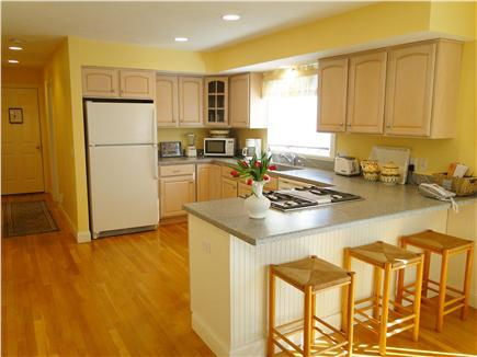 Mashpee, Popponesset Cape Cod vacation rental - Kitchen area with breakfast bar