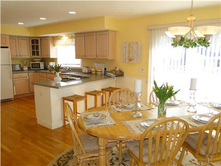 Mashpee, Popponesset Cape Cod vacation rental - The entire house is bright and nicely decorated