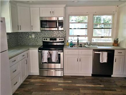 New Seabury, Popponesset New Seabury vacation rental - Kitchen equipped with new dishwasher, new stove, new microwave.