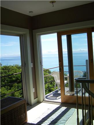 North Truro Cape Cod vacation rental - View from living room