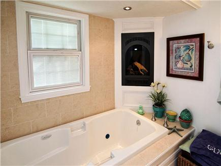 Dennis Village Cape Cod vacation rental - Bath off kitchen with entrance from pool area
