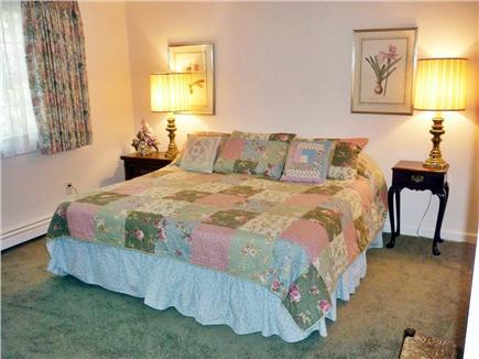 Dennis Village Cape Cod vacation rental - Restful 2nd floor king bedroom