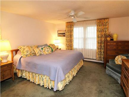 Dennis Village Cape Cod vacation rental - 1st floor king bedroom with full bath
