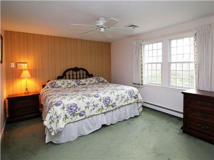 Dennis Village Cape Cod vacation rental - 2nd floor king bedroom- lots of room