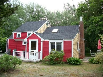 Dennis Cape Cod vacation rental - The ''Beach Plum'' with sunny front porch