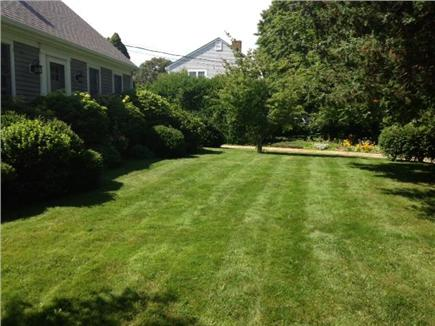 Brewster Cape Cod vacation rental - Front of house and lawn