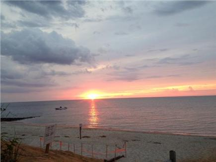 Brewster Cape Cod vacation rental - Sunset at Mants Landing beach