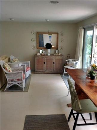 Brewster Cape Cod vacation rental - Dining and sitting area