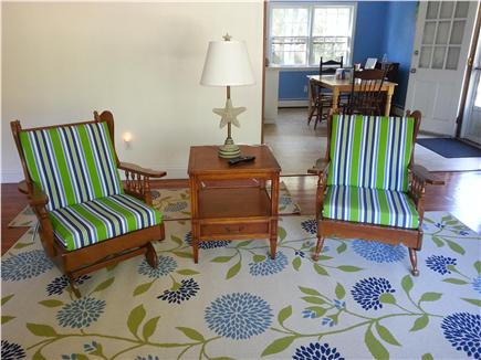 Harwich Cape Cod vacation rental - Living room seating area