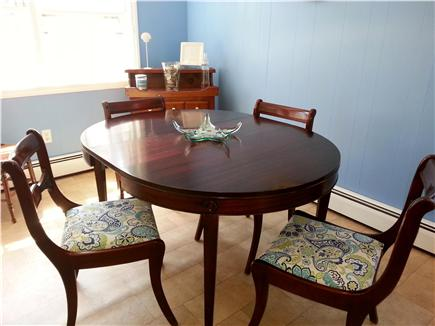 Harwich Cape Cod vacation rental - Bright dining area in kitchen