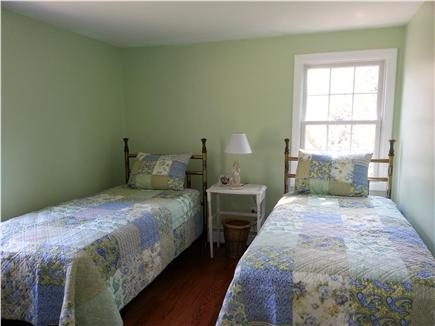 Harwich Cape Cod vacation rental - Bedroom 1 freshly painted & decorated  with 2 twins