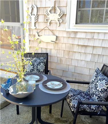 Yarmouth Cape Cod vacation rental - Patio dining, anyone?