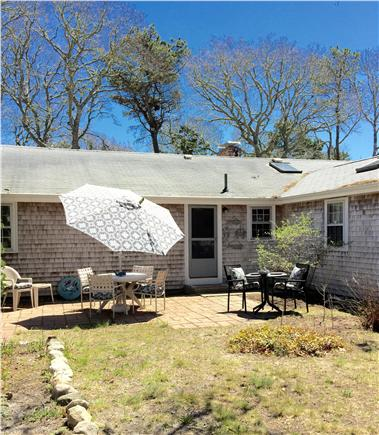 Yarmouth Cape Cod vacation rental - Private backyard patio