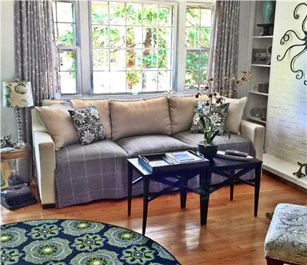 Yarmouth Cape Cod vacation rental - Snuggle up on the new sofa