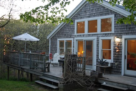 Chatham Cape Cod vacation rental - View of deck