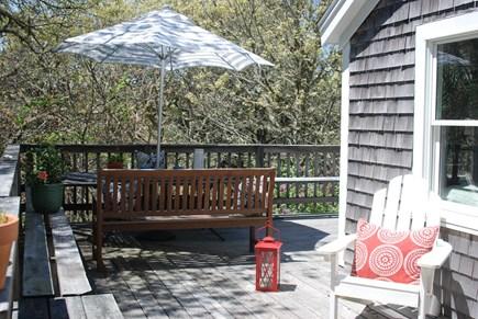 Chatham Cape Cod vacation rental - Wrap around deck