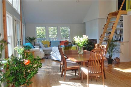 Chatham Cape Cod vacation rental - Living room and dining room
