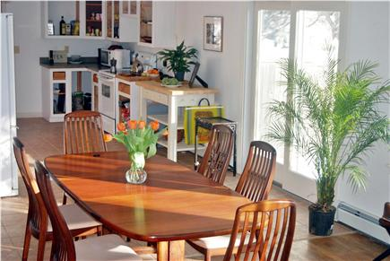 Chatham Cape Cod vacation rental - Dining room and kitchen (all one room)