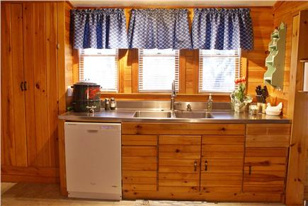 Dennisport Cape Cod vacation rental - Updated kitchen with the discerning cook in mind (opposite side)