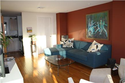 Provincetown Cape Cod vacation rental - Living room with TV