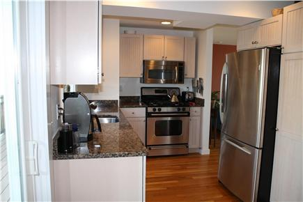 Provincetown Cape Cod vacation rental - Private kitchen with walkout deck