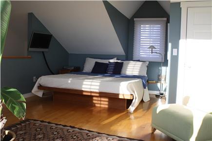 Provincetown Cape Cod vacation rental - Bedroom with 3rd floor deck