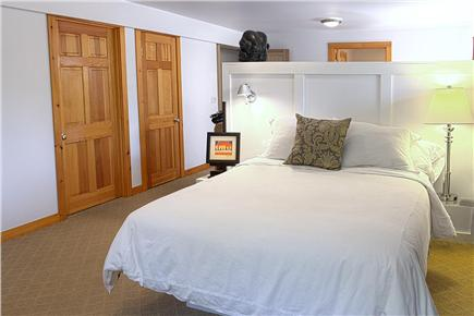 Provincetown Cape Cod vacation rental - Guest Room #4-Queen size bed, private bath, and sitting area.