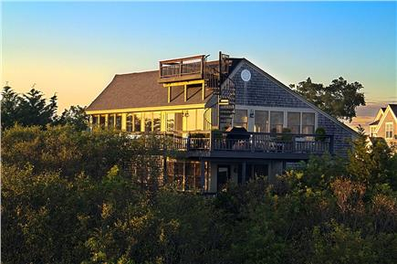 Provincetown Cape Cod vacation rental - Choose any of three decks to enjoy the great views.