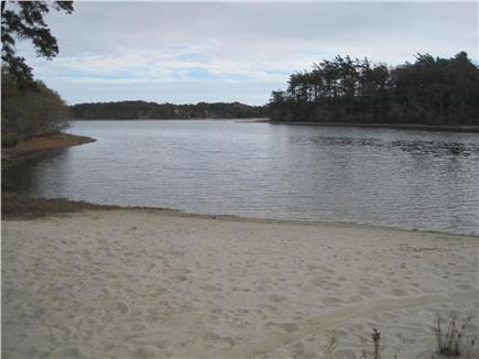 Harwich Cape Cod vacation rental - Sandy John Joseph Pond, great for swimming, kayacking & relaxing