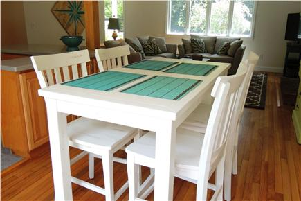 Harwich Cape Cod vacation rental - High top dining area